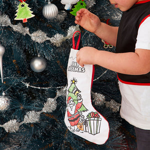 Colour-In Christmas Stocking- Non Woven Fabric - From 79c