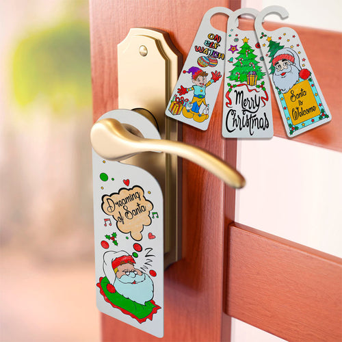 Christmas Door Hangers - Only 49c