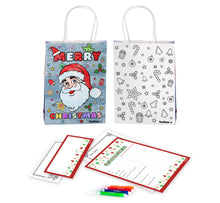 Load image into Gallery viewer, Letter to Santa Gift Bag Kit - Only 99c