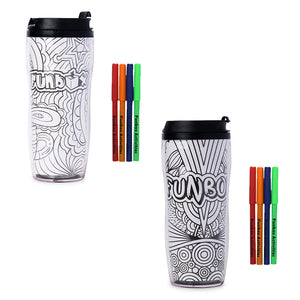 Colour-In Travel Mug