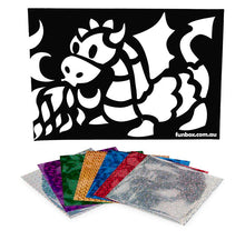 Load image into Gallery viewer, Dragon Foil Art Activity Pack