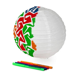 Colour-In Chinese Lantern Activity