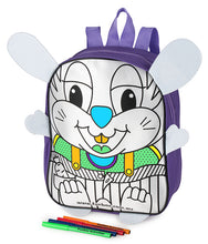 Load image into Gallery viewer, Colour-In Bunny Backpack