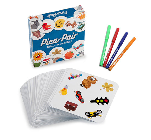 Pica-Pair Colour-In Card Game