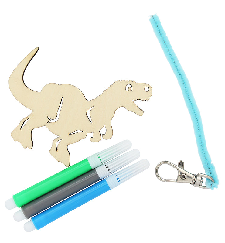 Dinosaur Bag Tag Set