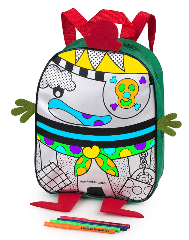 Colour Me In Cheek Pirate Backpack