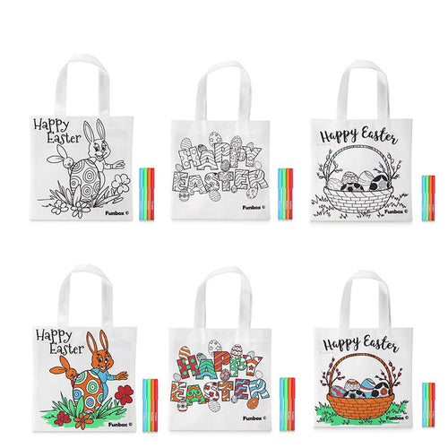 Easter Themed Tote Bags