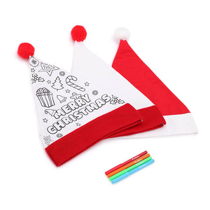 Colour In Santa Hat - From 99c