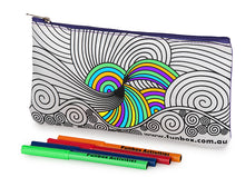 Load image into Gallery viewer, Swirl Pencil Case