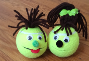 Tennis Ball Puppet Kit