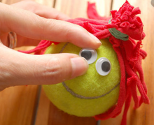 Load image into Gallery viewer, Tennis Ball Puppet Kit