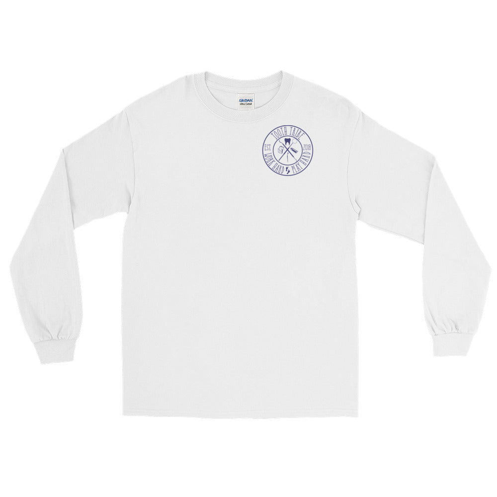 In Teeth We Trust Long Sleeve T-Shirt - White / S - Long Sleeve In-Teeth-We-Trust-Long-Sleeve-T-Shirt