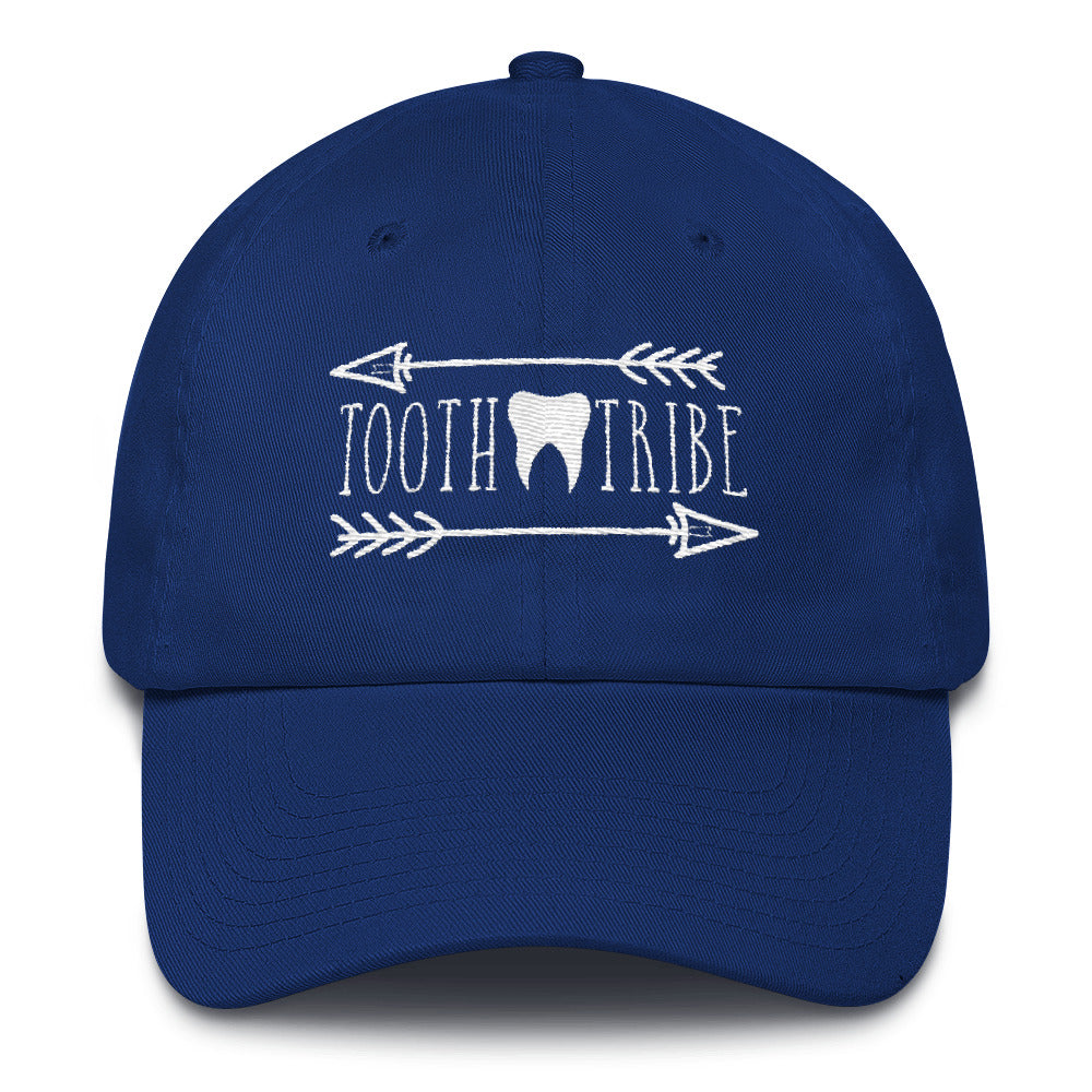 Tooth Tribe Cotton Cap - Royal Blue - Hat Tooth-Tribe-Cotton-Cap