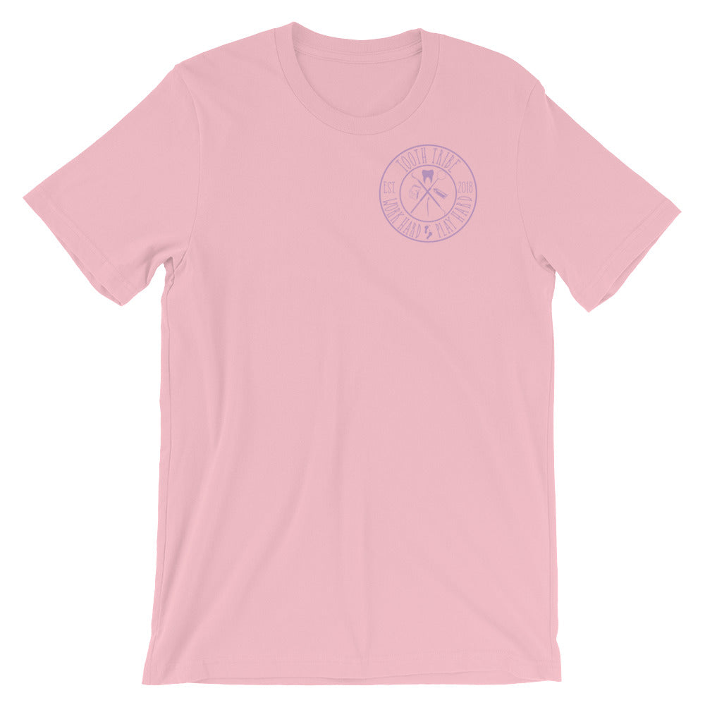 Floss Boss- Can You Handle The Tooth Short-Sleeve Unisex T-Shirt - Pink / S - T-Shirt