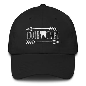 Tooth Tribe Cotton Cap - Black - Hat Tooth-Tribe-Cotton-Cap