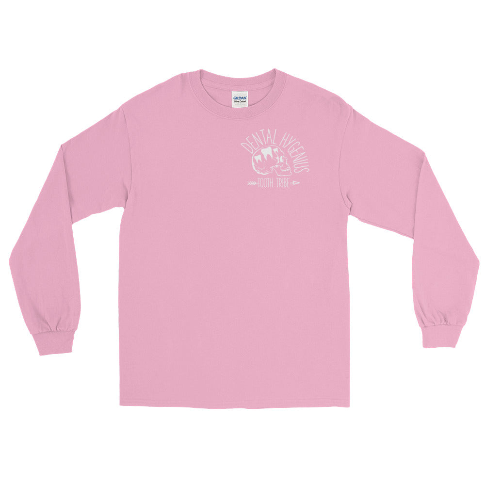 Dental Hygenius Long Sleeve T-Shirt - Light Pink / S - Long Sleeve Dental-Hygenius-Long-Sleeve-T-Shirt
