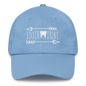 Tooth Tribe Cotton Cap - Carolina Blue - Hat Tooth-Tribe-Cotton-Cap