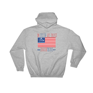 In Teeth We Trust Hooded Sweatshirt - Sweatshirt In-Teeth-We-Trust-Hooded-Sweatshirt