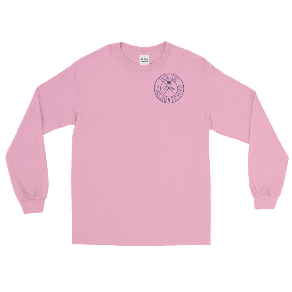 In Teeth We Trust Long Sleeve T-Shirt - Light Pink / S - Long Sleeve In-Teeth-We-Trust-Long-Sleeve-T-Shirt