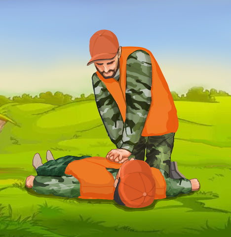 hunter-first-aid-emergency-cpr-chest-compression