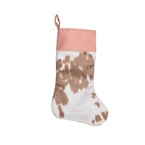 Glitzy Girl Christmas Stocking