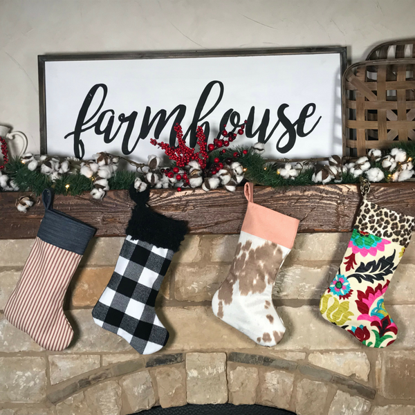 The Magnolia Christmas Stocking