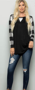 Plus Size Long sleeve Shirt