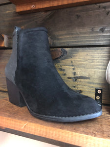 Giant Black Bootie