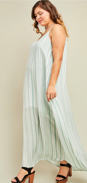 Sage Plus Size Dress