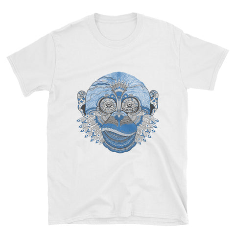 Lady Monkey Pattern Tee