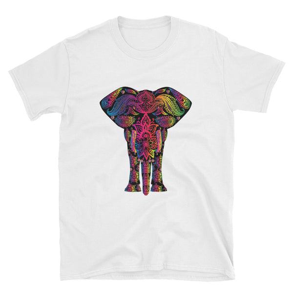 Colorful Rainbow Elephant Tee