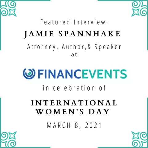 Financevents Interview in Celebration of International Women's Day!