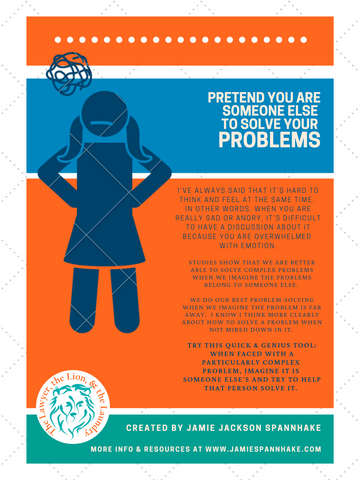 Infographic Pretend to Solve Your Problems