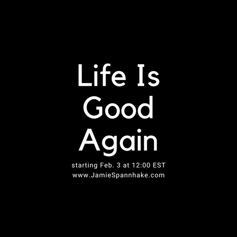 """Life Is Good Again"" Group Program"