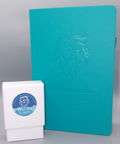 The Lawyer, the Lion, & the Laundry Bundle: Thought Book Journal & Practice Cards