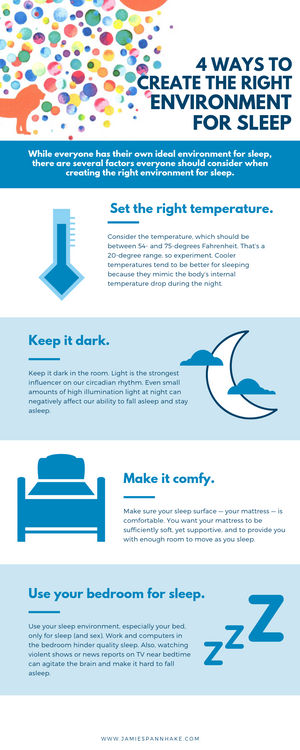 4 Ways to Create the Right Environment for Sleep