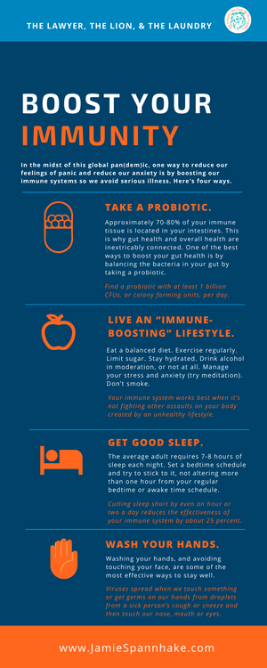 Boost Your Immunity - Infographic