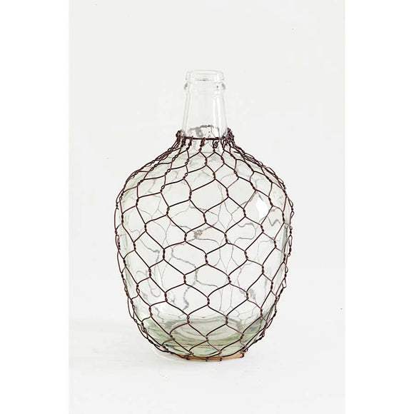 Genie Glass Bottle with Mesh