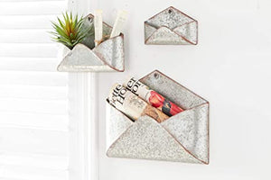 Tin Wall Mounted Envelope - Large