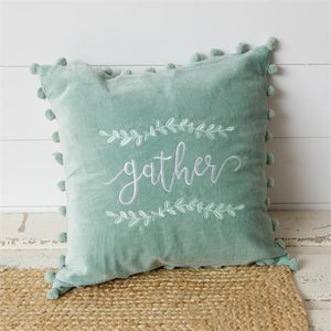 Pillow - Gather, Sage Green