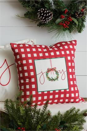 Two-Sided Pillow - Christmas Joy