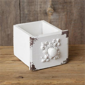 White Small Drawer Container