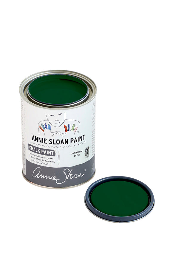 Chalk Paint Amsterdam Green - 1 Quart