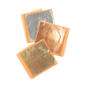 Metal Leaf - Transfer Brass, Envelope of 25