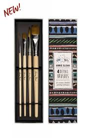 Annie Sloan Detail Brushes - Set of 4