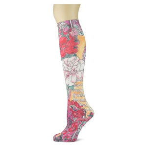 Sox Trot Adult Knee Highs - Chateau Garden