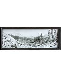 Mountain Scene Framed Wall Decor