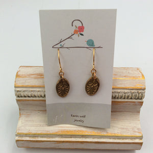 Bronze Charms Earrings