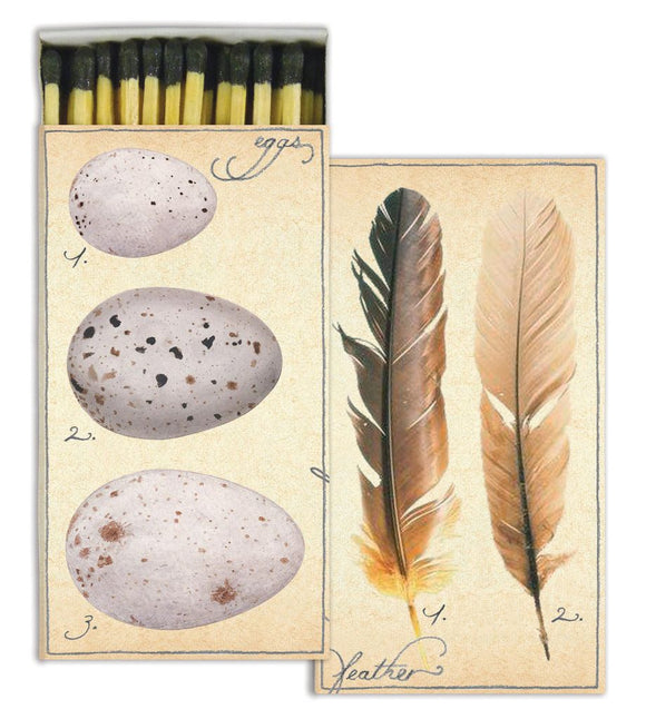 HomArt Matches - Fine Feathers
