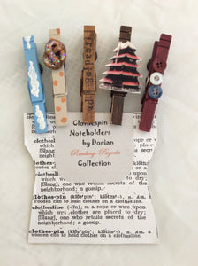 Reading Clothespin Noteholders